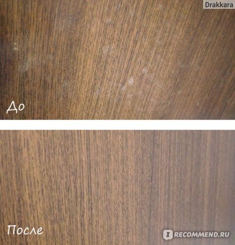 Мытье межкомнатной двери. Результат за 1 мытье.