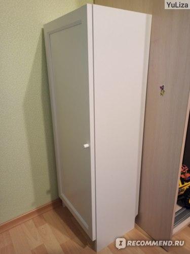 Стеллаж с дверью Билли / Оксберг Икеа фото