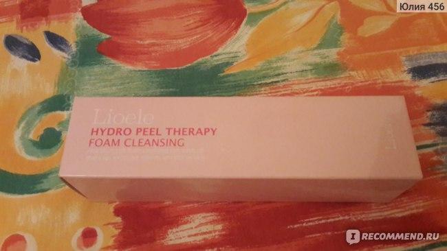Пенка для умывания Lioele  Hydro Peel Therapy Foam Cleansing фото
