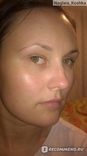 Лицо после нанесения
