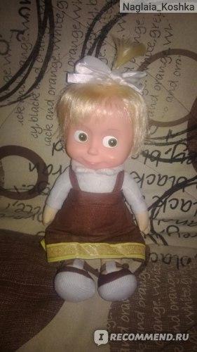 """Кукла Маша из мультика """"Маша и Медведь"""" фото"""