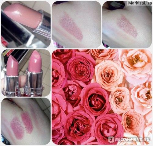 С право на лево: фото 1,2,3 №721 Pinky Beige; фото 3,4 - №210 Thats Mauvie, №173 Windsor Rose.