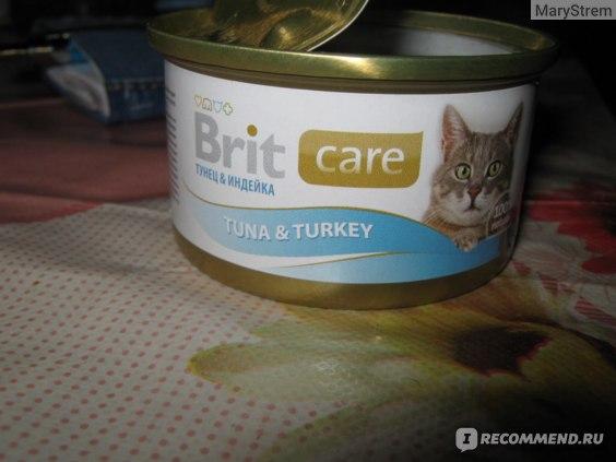Консервы для кошек BRIT фото