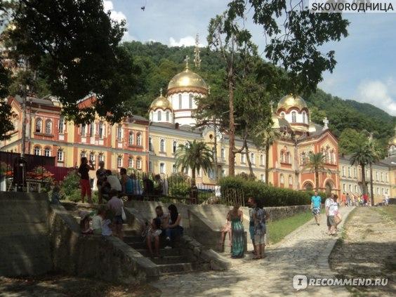 Абхазия Новый Афон  фото