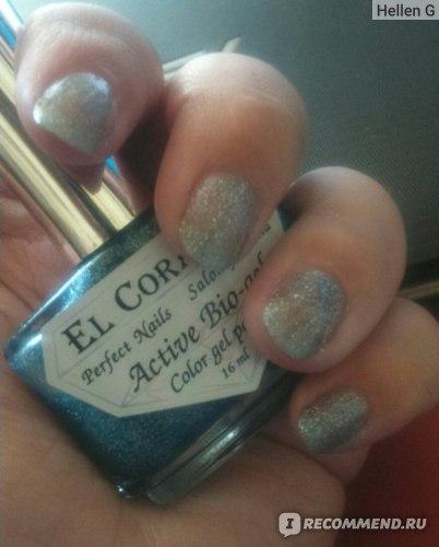 Лак для ногтей EL CORAZON серия Large Hologram фото