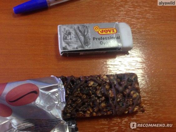Батончик мюсли ЛЕОВИТ нутрио Кофе с шоколадом для энергии фото