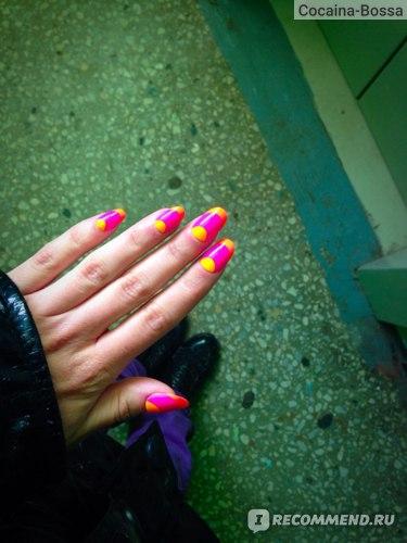 Накладные ногти MAYBELLINE  Colorama nail falsies фото