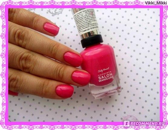 Лак для ногтей Sally Hansen Complete Salon Manicure фото