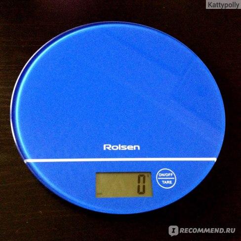 Весы кухонные Rolsen KS-2906 фото