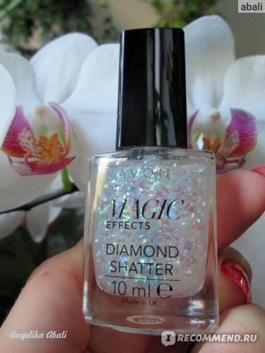 """Декоративное покрытие для ногтей Avon """"Блеск алмаза"""" фото"""