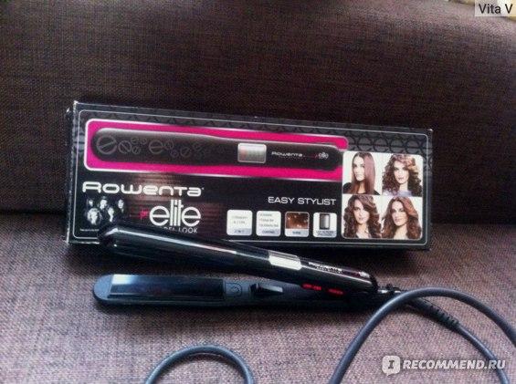 Выпрямитель волос Rowenta SF 6012 фото