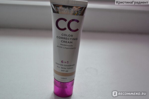 CC Cream Lumene CC Color Correcting фото