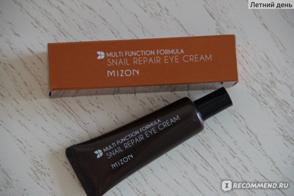 Крем для кожи вокруг глаз Mizon Snail Repair Eye Cream с экстрактом улитки фото