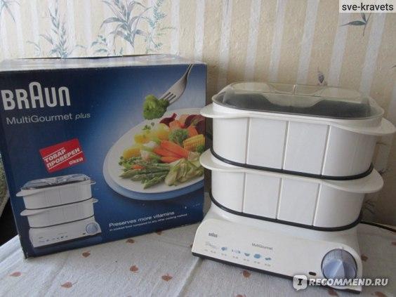 Пароварка Braun  Multi Gourmet FS 20 фото