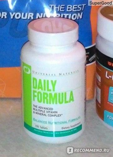 Витаминно-минеральный комплекс Universal Daily Formula фото