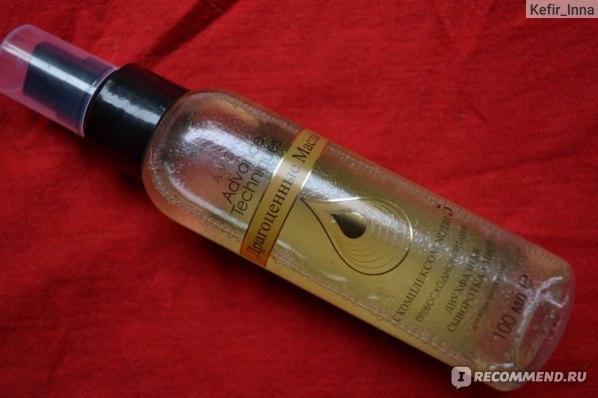 Двухфазная сыворотка-спрей для волос Avon Advance Techniques Драгоценные масла фото