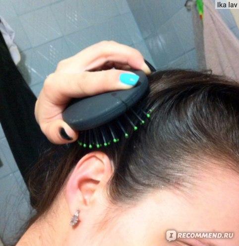 Щетка для волос Beauty Style Овальная большая цветная (арт.1245191) фото