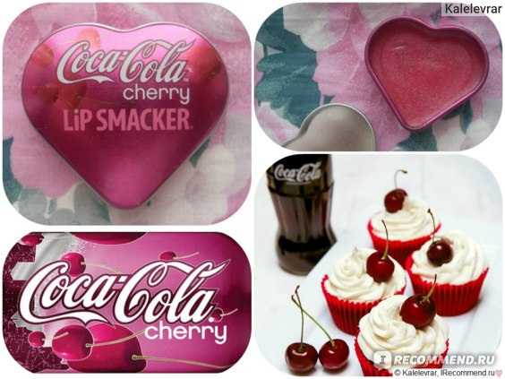 Бальзам для губ Lip Smacker Coca Cola Cherry фото