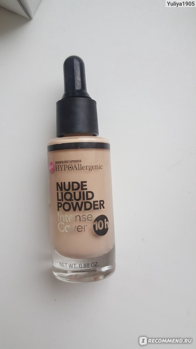 Nude Liquid Powder HypoAllergenic Bell