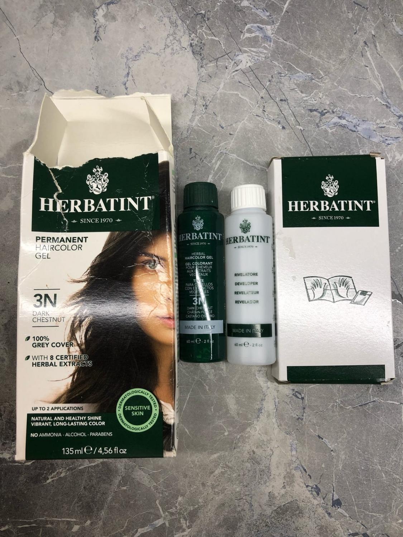 Натуральная краска для волос Herbatint   HAIR FRESH