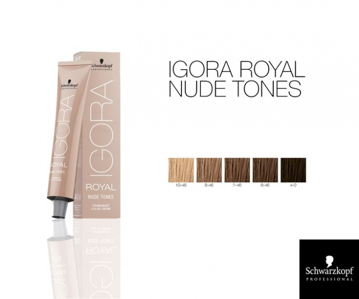 Schwarzkopf Igora Royal Nude Tones | Adel Professional